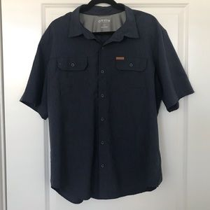 Men's Orvis button up XL dry wick quick dry